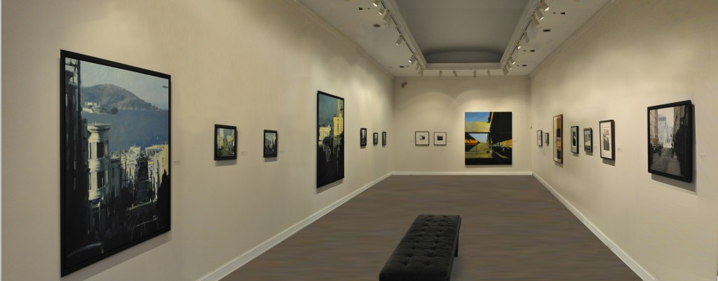 Asheville Art Museum, Cityscapes of Ben Aronson
